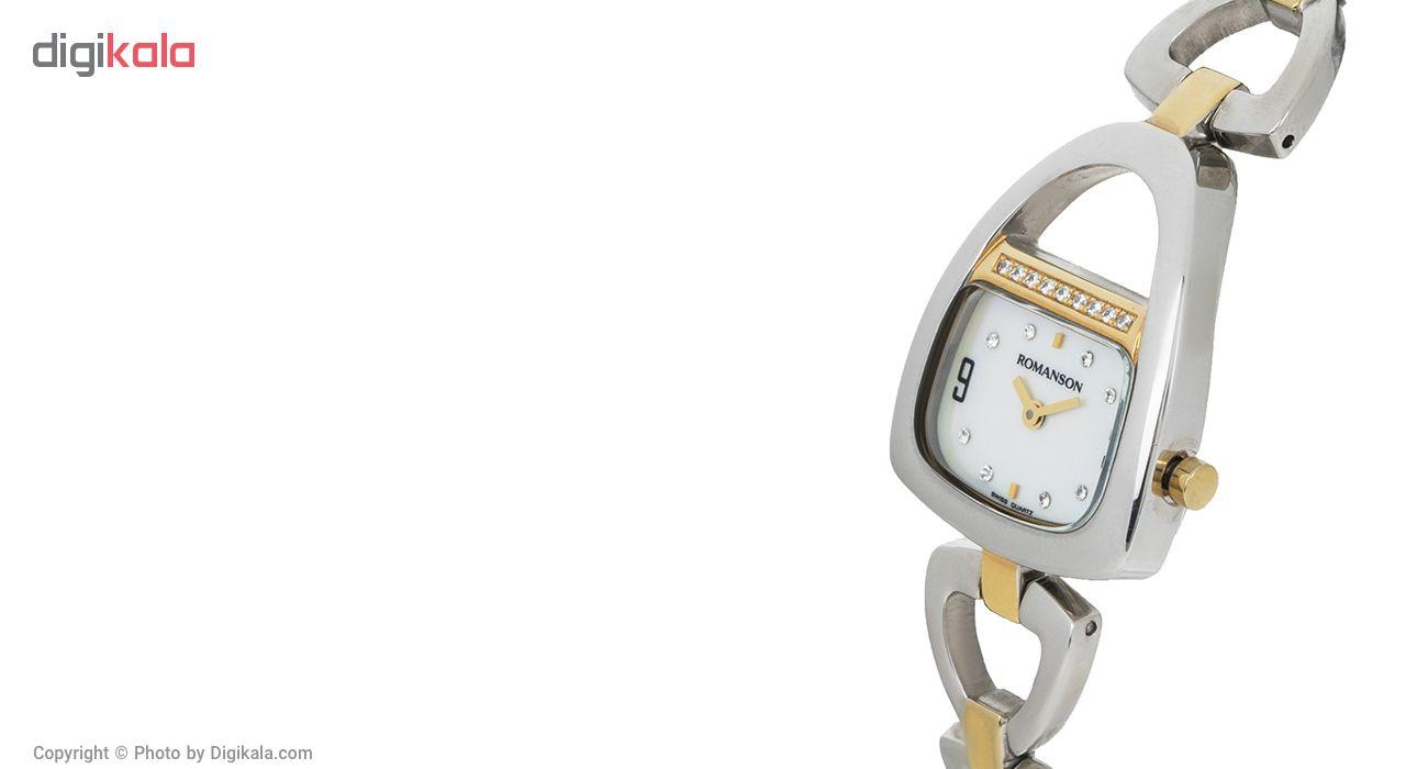 ساعت  زنانه رومانسون مدل RM1207QL1CM11G