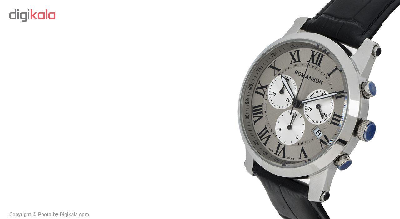 ساعت مچی عقربه ای مردانه رومانسون مدل TL0334PM1WBA5B