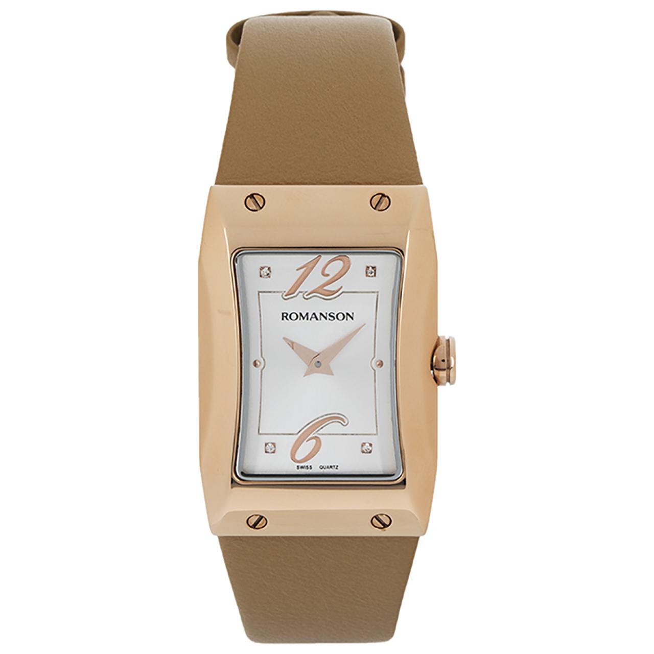 کد تخفیف                                      ساعت مچی عقربه ای زنانه رومانسون مدل RL0359LL1RAS6R