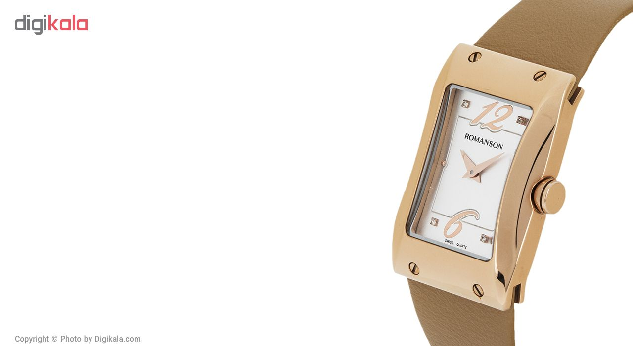 ساعت زنانه برند رومانسون مدل RL0359LL1RAS6R