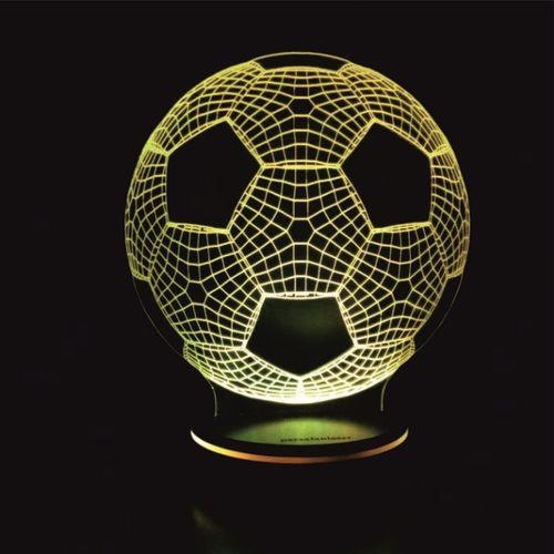 چراغ خواب سه بعدی پارسافن لیزر طرح توپ فوتبال