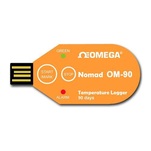 دیتالاگر دما یک بار مصرف 90 روزه  اُمگا مدل OM-90