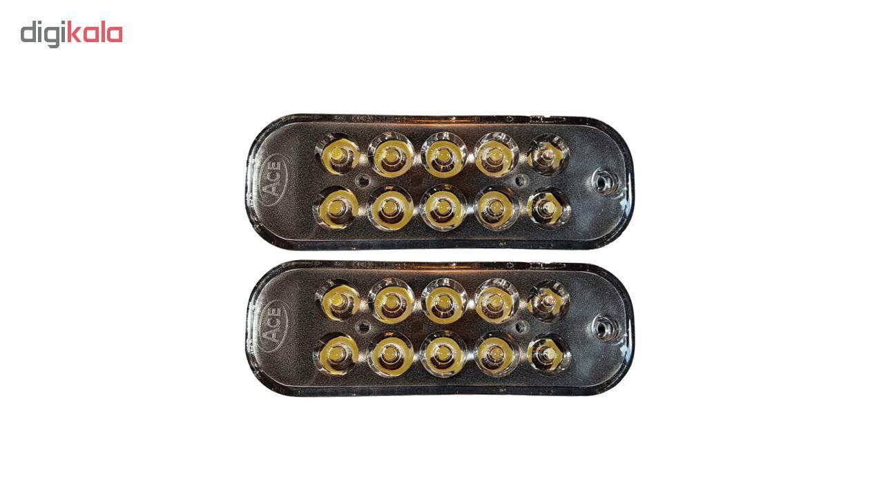 چراغ مه شکن مدل Galleria-PRD021 مناسب برای پراید main 1 1