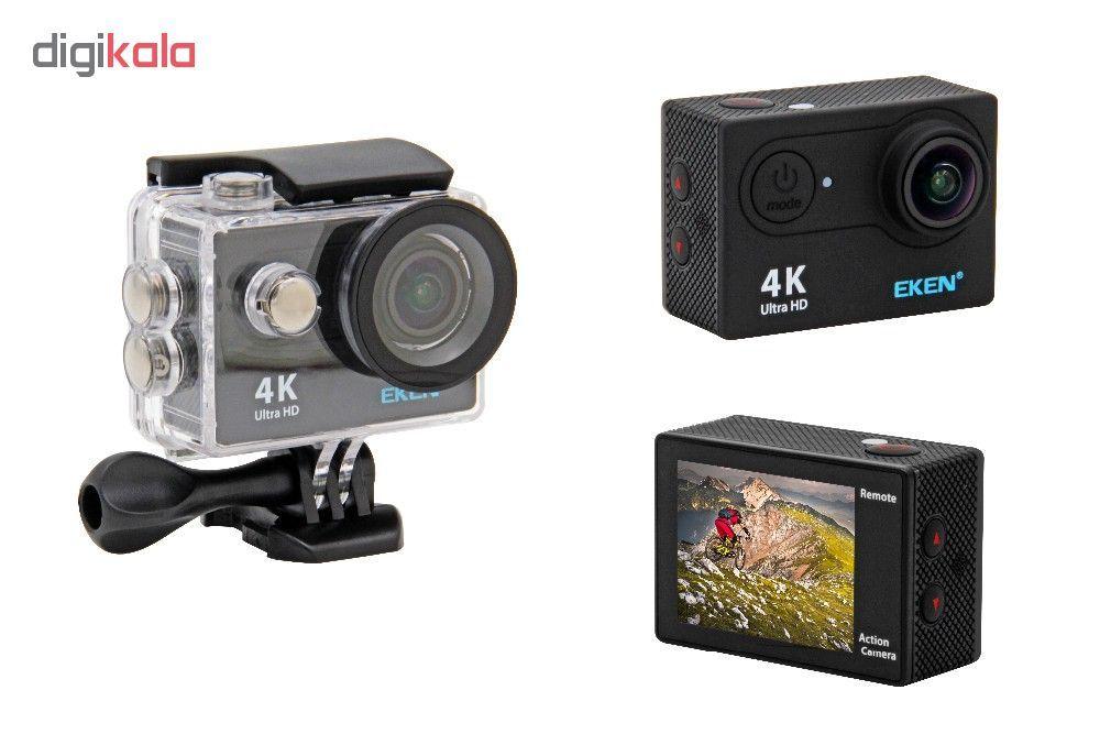 دوربین ورزشی اکن مدل H9R به همراه لوازم جانبی 4 تکه