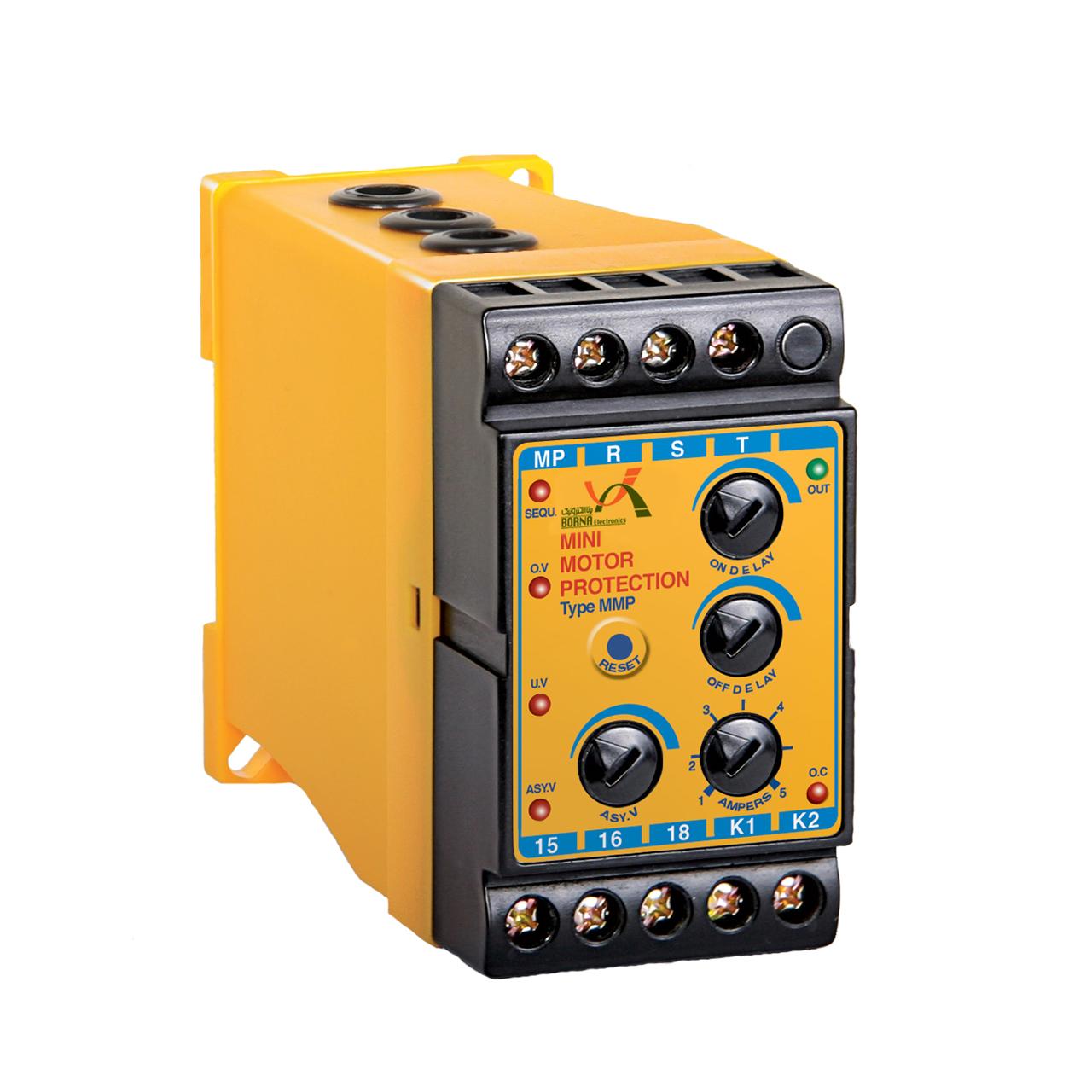 کنترل بار و کنترل فاز 16 آمپر برنا الکترونیک مدل MMP