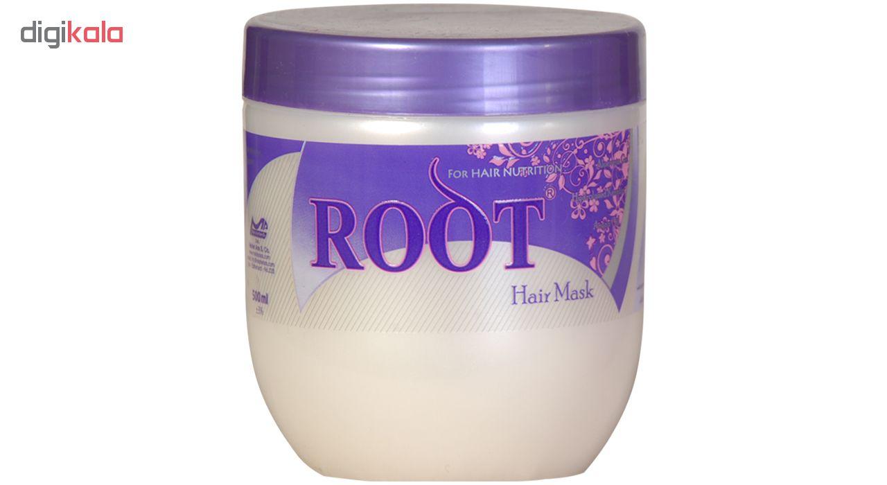ماسک مو گیاهی روت مدل Nutrition حجم 500 میلی لیتر