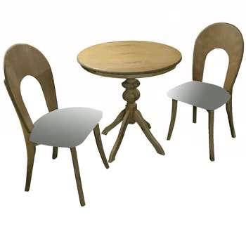 ست میز و صندلی ناهار خوری مدل z06  