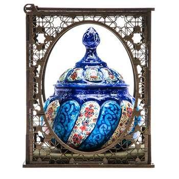 قندان میناکاری شده اصفهان مدل 1233