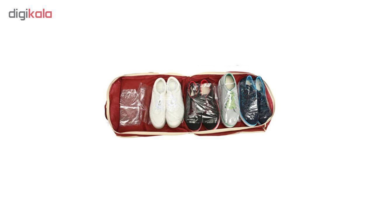 ارگنایزر جای کفش مدل Shoe Tote  main 1 5