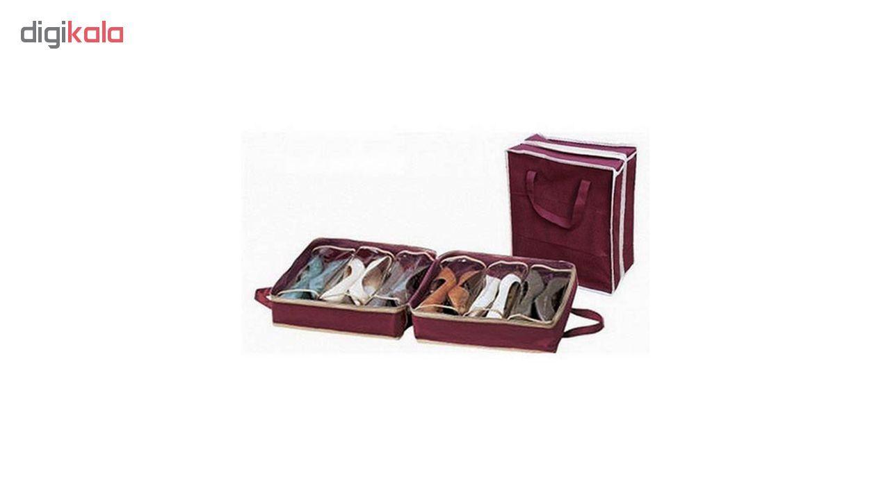 ارگنایزر جای کفش مدل Shoe Tote  main 1 6