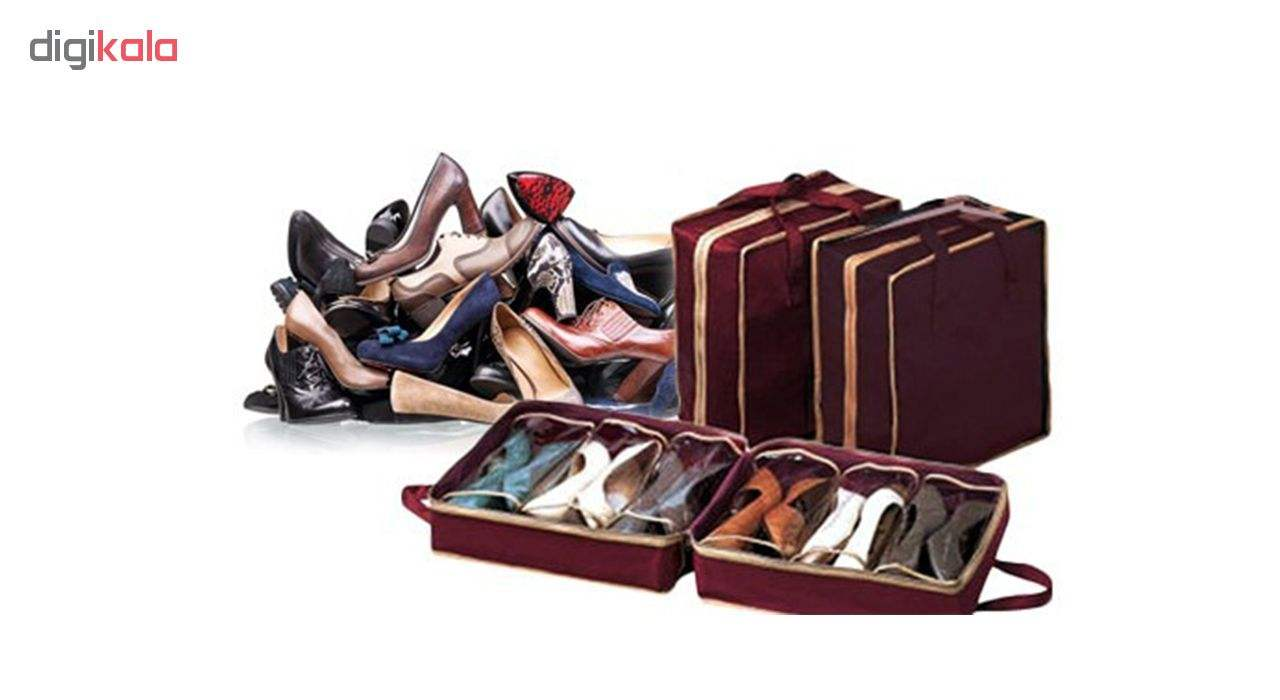 ارگنایزر جای کفش مدل Shoe Tote  main 1 7