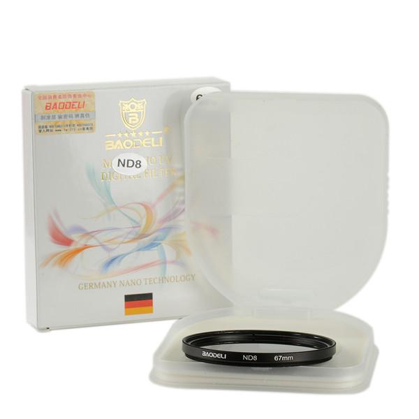 فیلتر لنز بائودلی مدل 67 ND8
