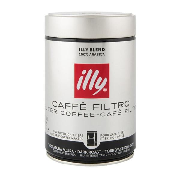 قوطی پودر قهوه ایلی مدل Cafe Filtro
