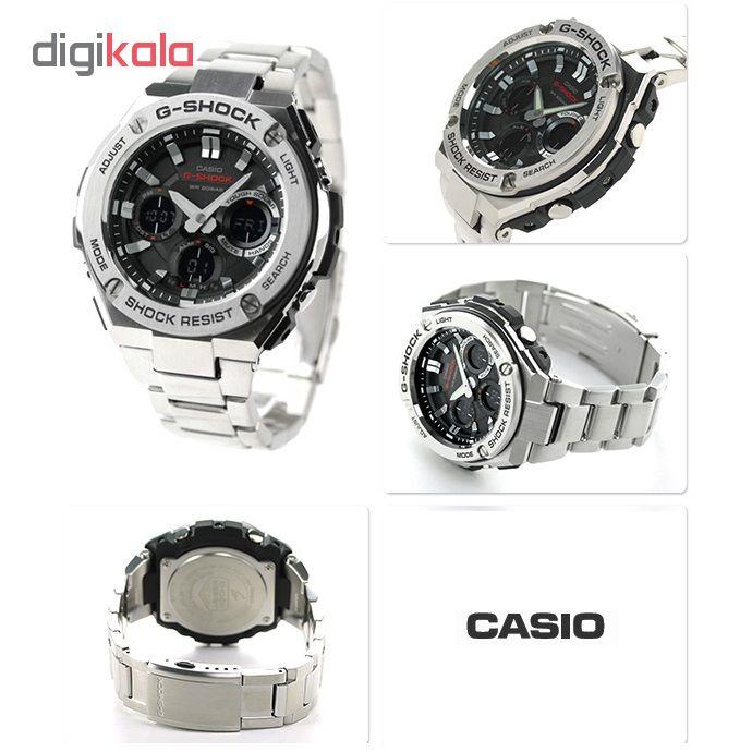 خرید ساعت مچی عقربه ای مردانه کاسیو GST-S110D-1ADR | ساعت مچی