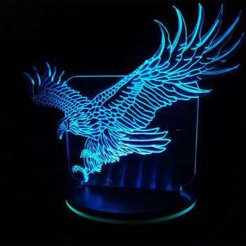 چراغ خواب پارسافن لیزر مدل عقاب 16 رنگ ریموت دار