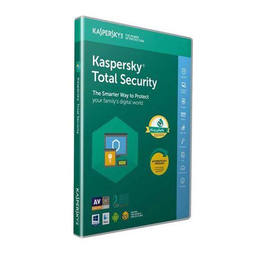 نرمافزار امنیتی کسپرسکی توتال سکیوریتی 1 کاربره 1 ساله نشر پارس