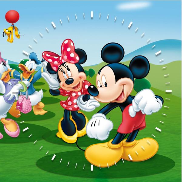 ساعت دیواری ویولت دکور مدل Mickeymouse S22