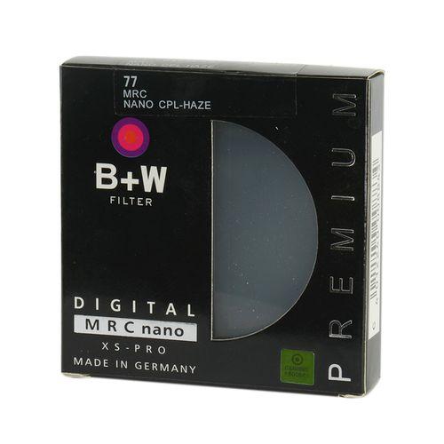 فیلتر لنز مدل B+W CPL 77