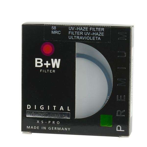 فیلتر لنز مدل B+W MC UV 58