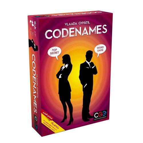 بازی فکری سی جی ای مدل Codenames نسخه فارسی