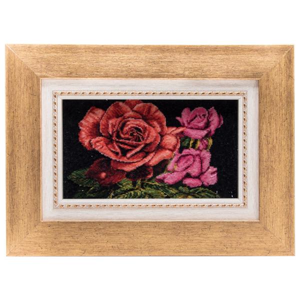 تابلو فرش دستباف گل های رز سی پرشیا کد 901424