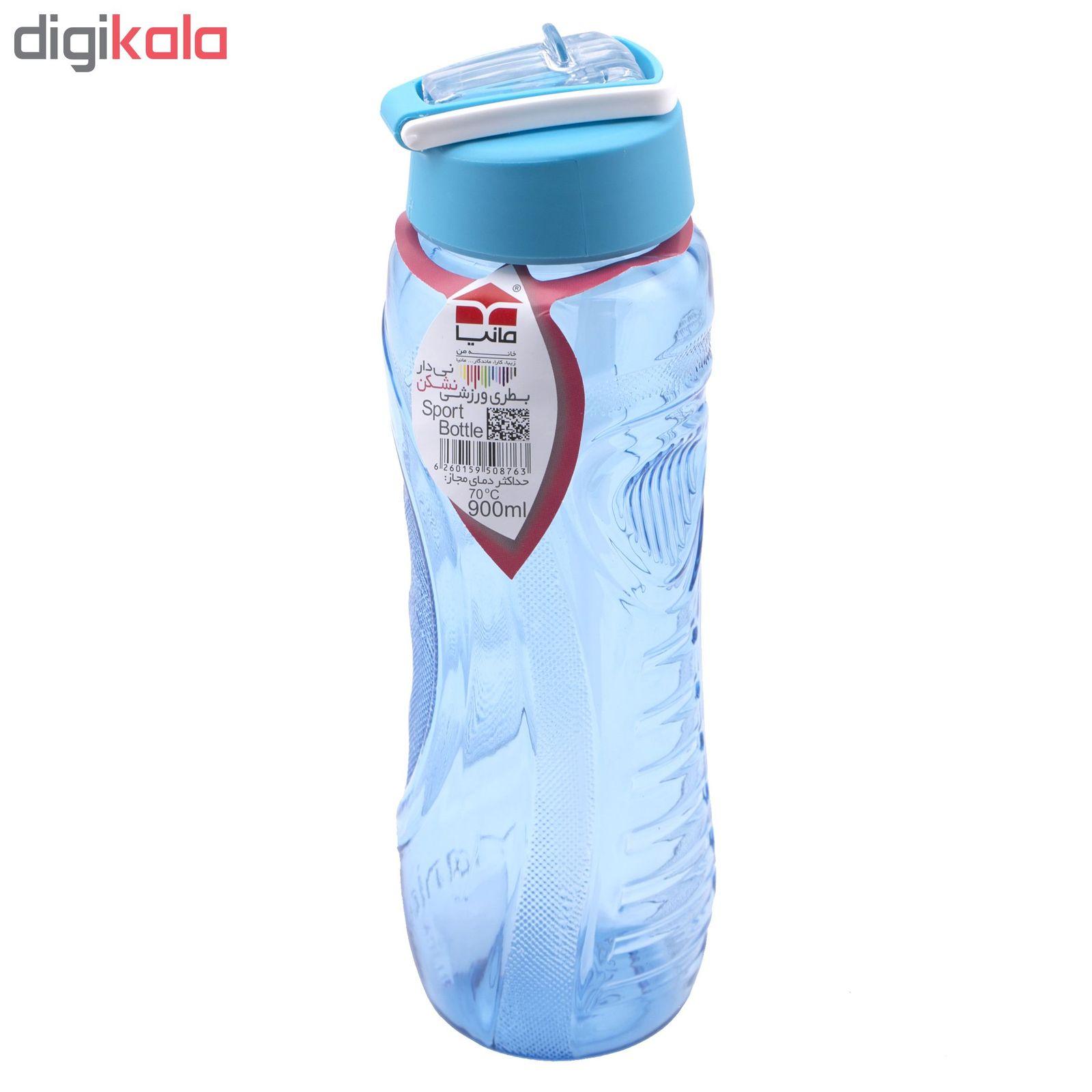 بطری ورزشی نشکن مانیا نی دار بزرگ مدل Mp103111 گنجایش  0.9 لیتر main 1 4
