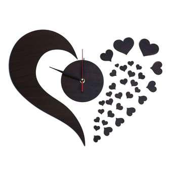 ساعت دیواری دکونوشاپ طرح قلب