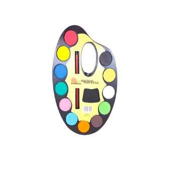 آبرنگ 12 رنگ آرتیست مدل H4P