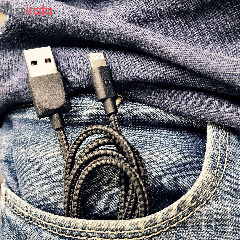 کابل USB به لایتنینگ هالوبک مدل سوپرکابل