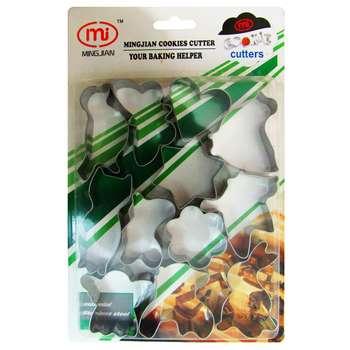 کاتر شیرینی پزی مدل Mi بسته 12 عددی