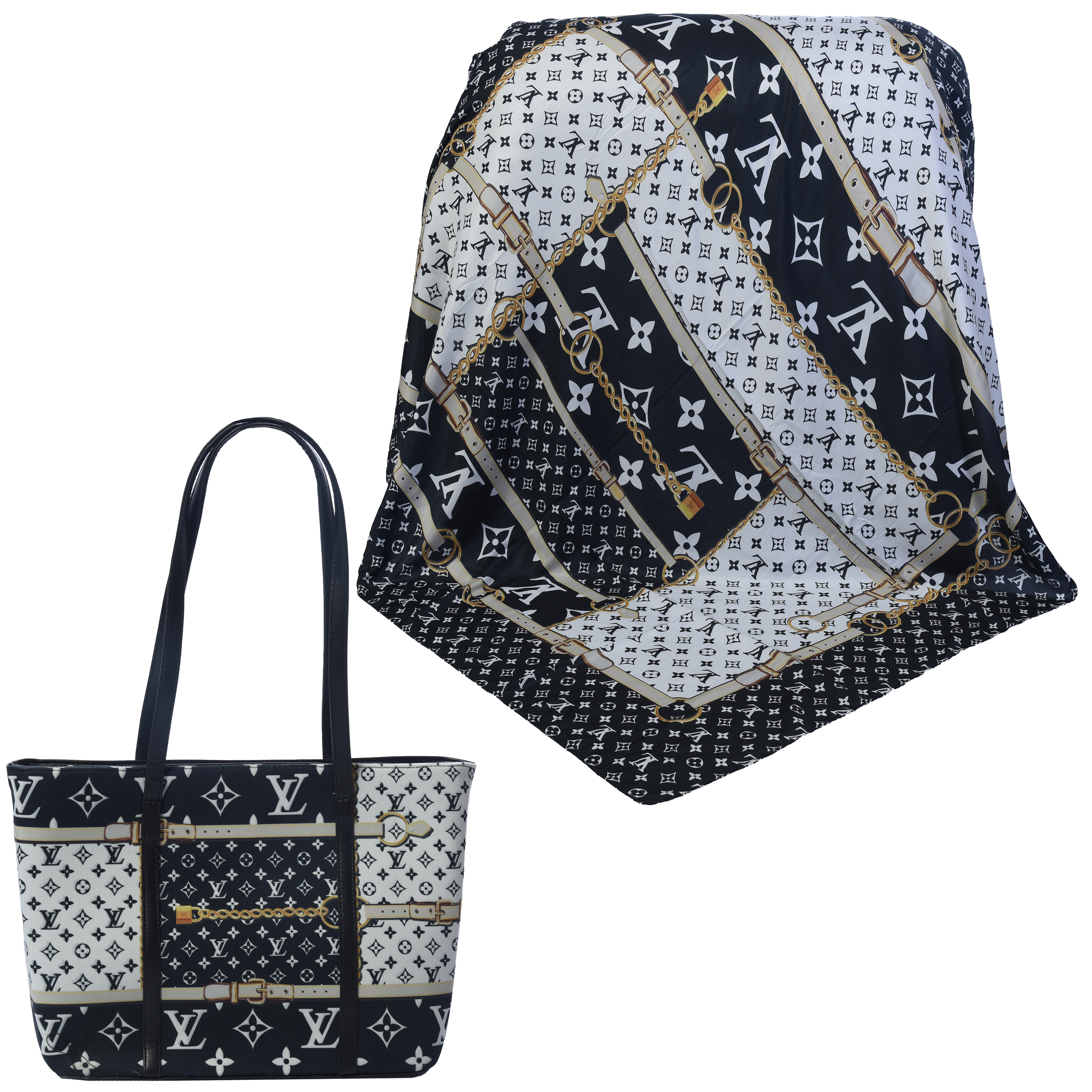 ست کیف و روسری زنانه کد 990229-T1