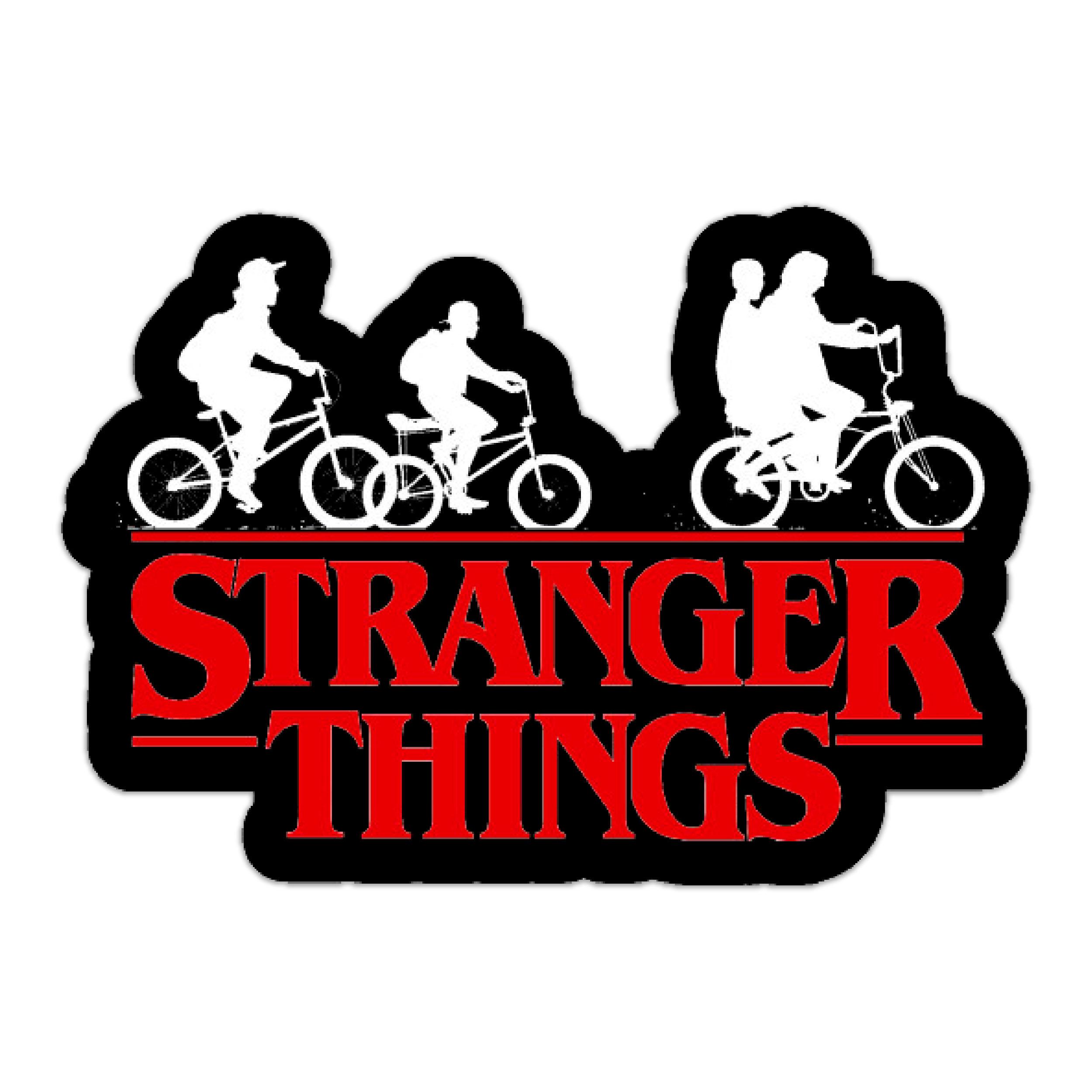 استیکر لپ تاپ طرح Stranger Things کد ST-50