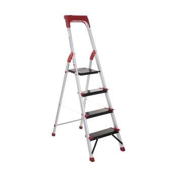 نردبان 4 پله آلوم پارس پله مدل کلاسیک