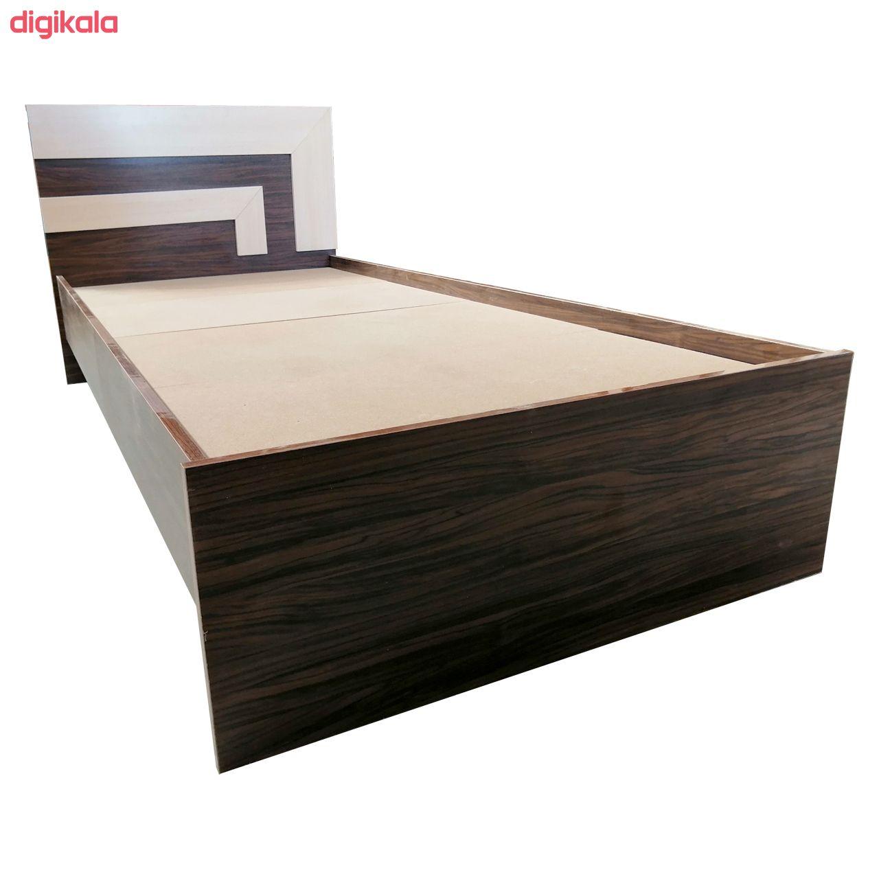تخت خواب یک نفره مدل TB16 سایز 200x96 سانتی متر  main 1 3