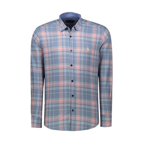 پیراهن آستین بلند مردانه پولو مدل LS16
