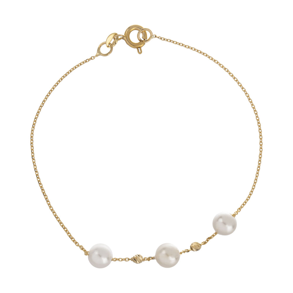 دستبند طلا 18 عیار زنانه مایا ماهک مدل ZMB1051
