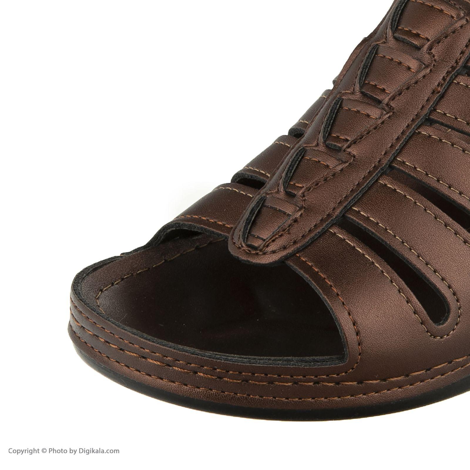 دمپایی زنانه کفش آویده کد av-0304212 رنگ مسی -  - 5