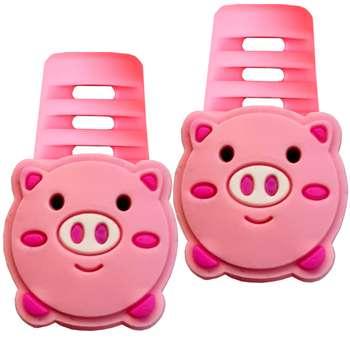 تصویر محافظ کابل مدل Cute Pig B02 بسته 2 عددی