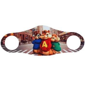 ماسک تزیینی صورت طرح آلوین سنجاب ها