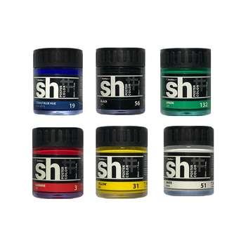 گواش 6 رنگ شین هان کد SH1100