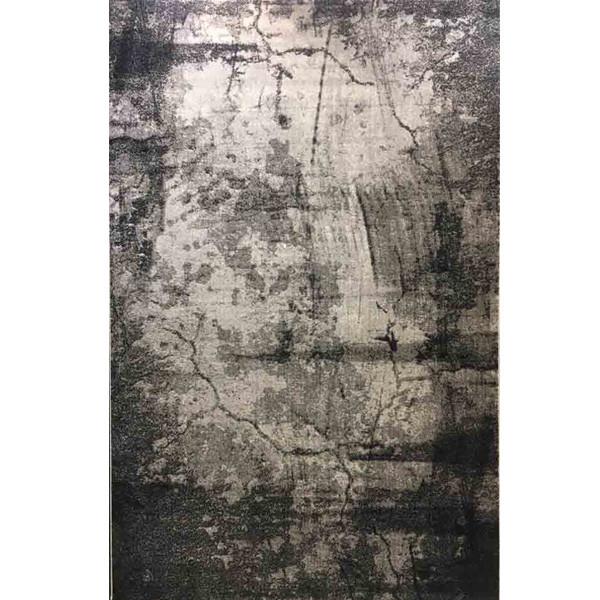 فرش ماشینی ساوین طرح میداس زمینه طوسی
