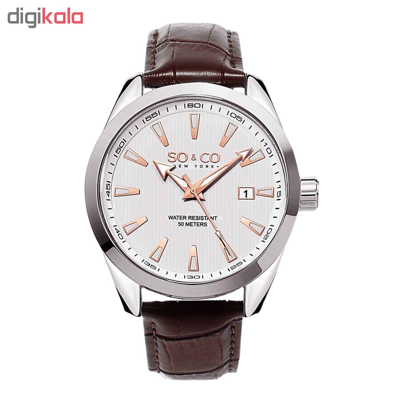 خرید ساعت مچی عقربه ای مردانه سو اند کو مدل 5039L.3
