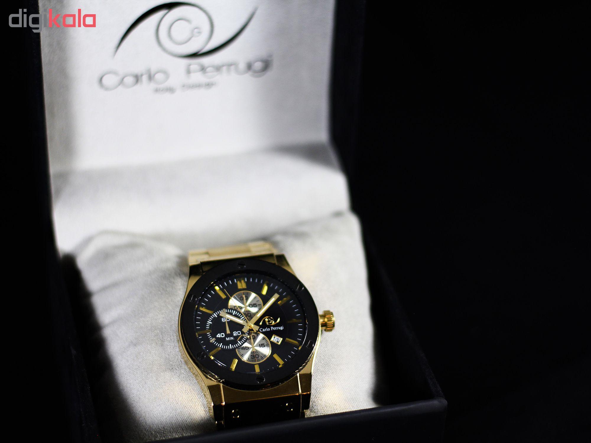 ساعت مچی عقربه ای مردانه کارلو پروجی مدل G8980-1