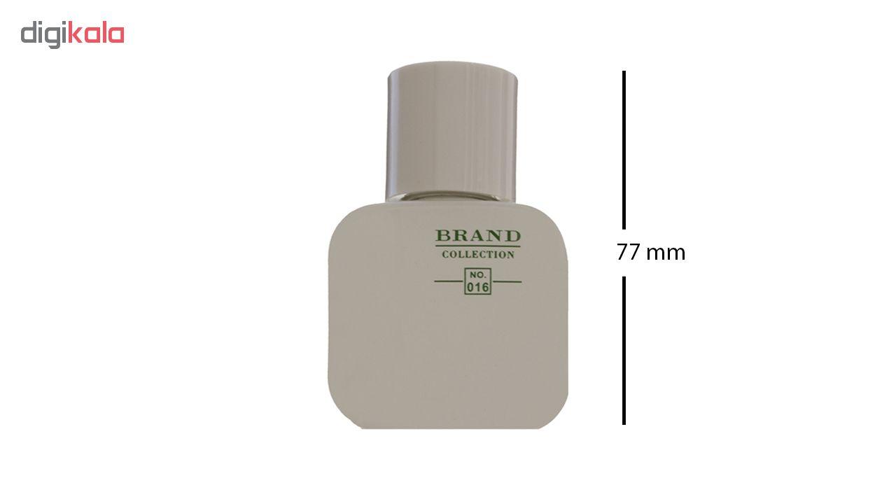 عطر جیبی مردانه برند کالکشن مدل 016 lacoste blanc حجم 25 میلی لیتر