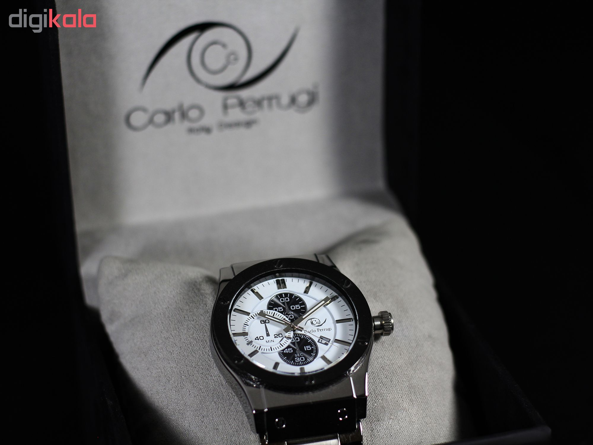 ساعت مچی عقربه ای مردانه کارلو پروجی مدل G8980-3
