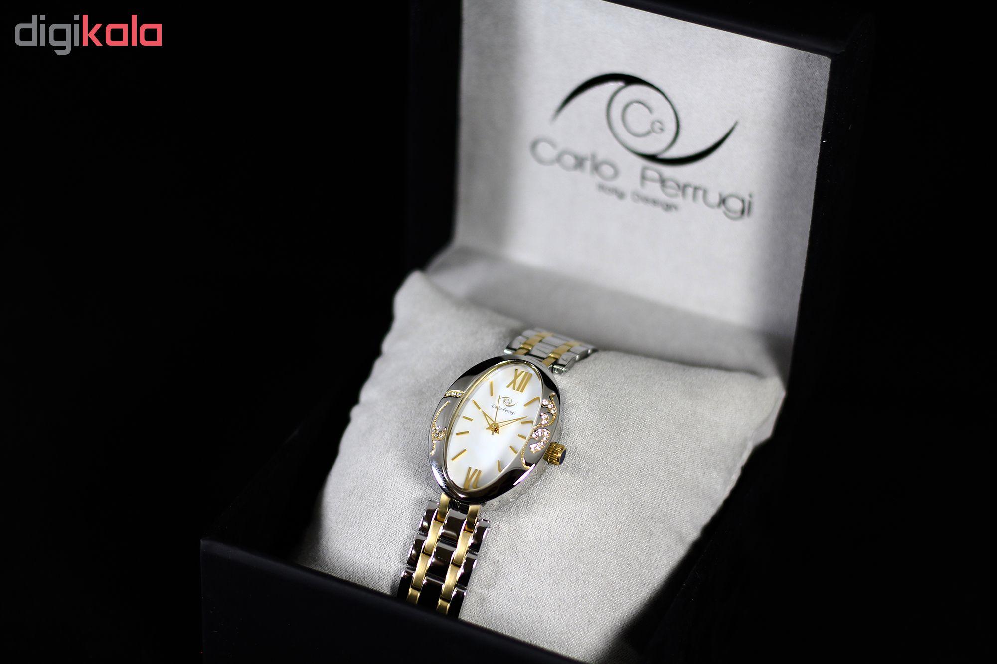 ساعت مچی عقربه ای زنانه کارلو پروجی مدل SL124-1