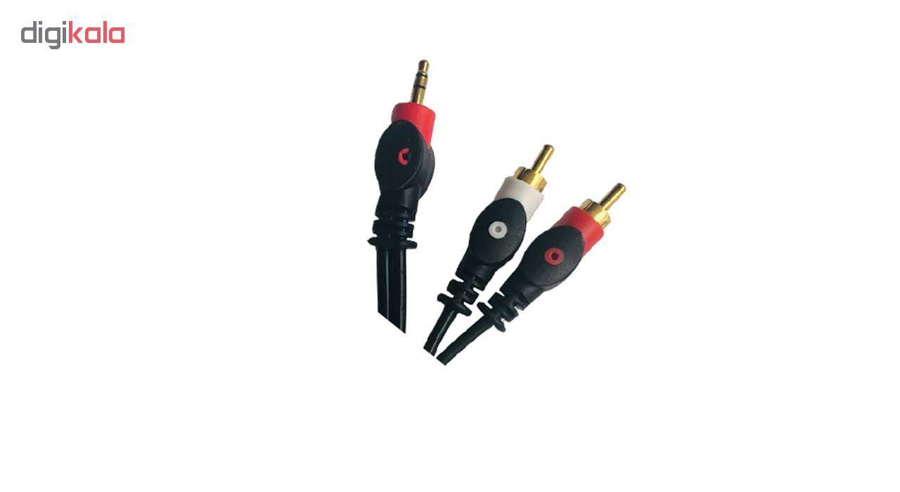 کابل 1 به 2 صدا پی نت مدل 3.5-2R طول 1.5 متر main 1 2