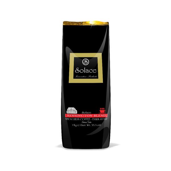 قهوه سولیس مدل KENSINGTON WHOLE BEAN DARK ROAST مقدار 1000 گرم