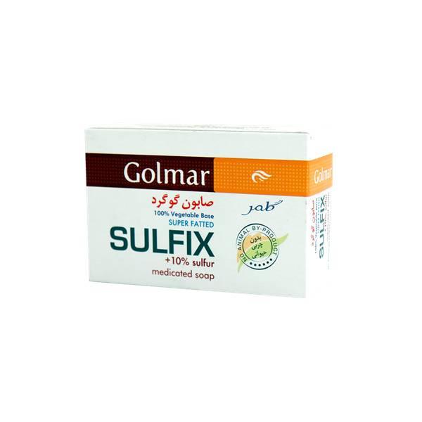 صابون گلمر مدل Sulfix مقدار ۱۲۰ گرم