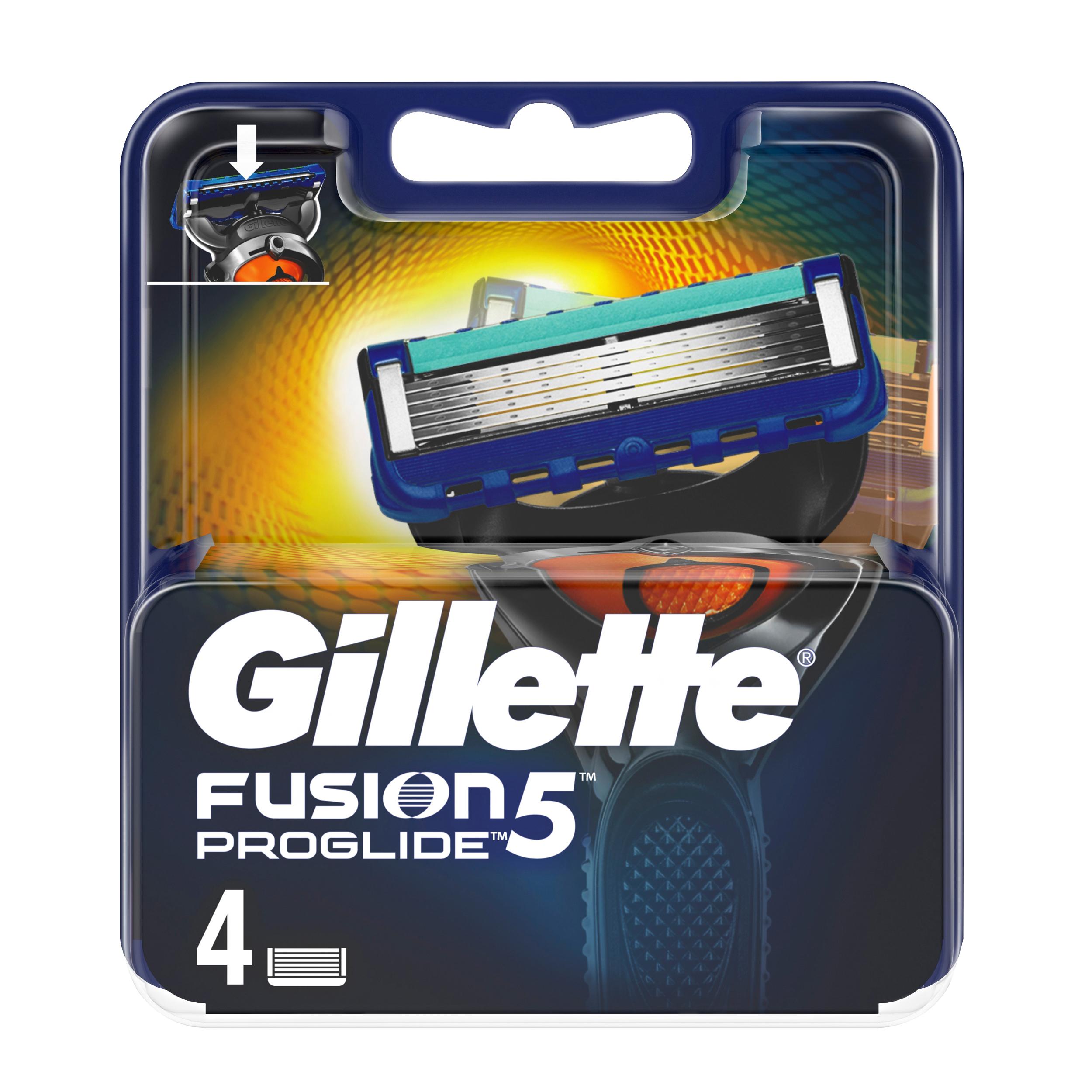 قیمت تیغ یدک ژیلت مدل Fusion 5  Proglide بسته 4 عددی